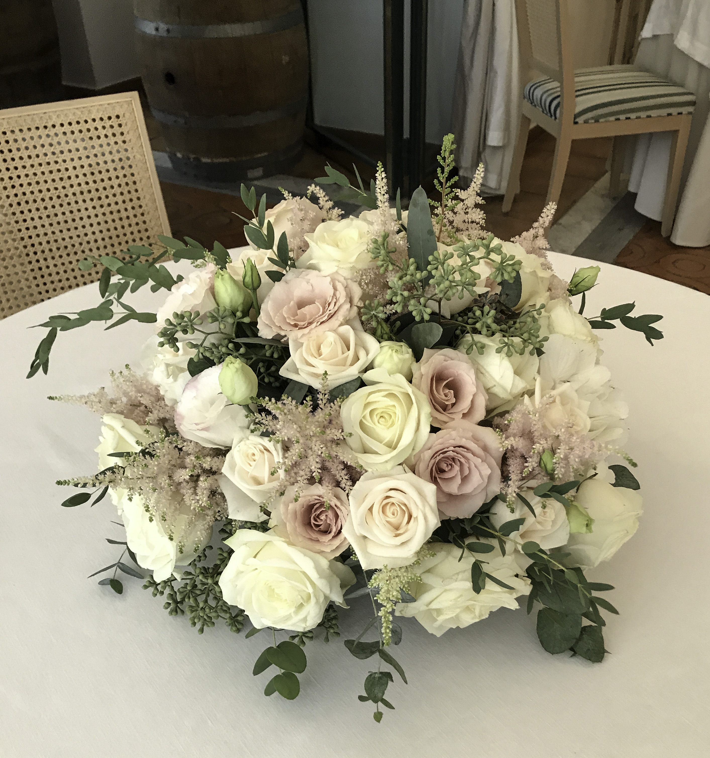 Large Rose Centerpiece fro Round Table